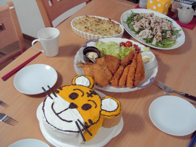 5歳誕生日ディナー.JPG