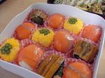 運動会のお弁当2006手まり寿司.JPG